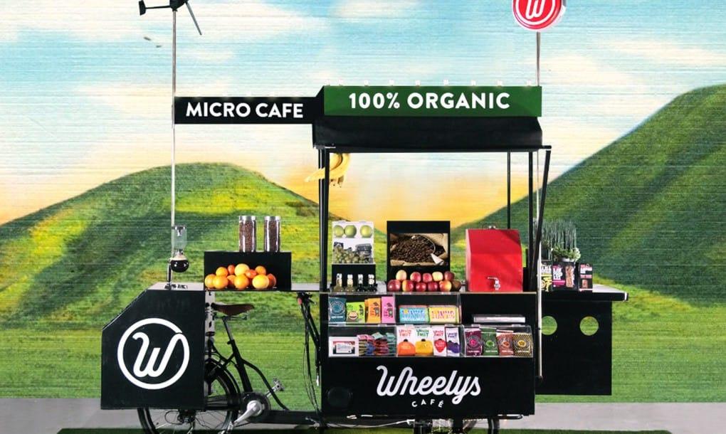 Wheelys 4 Green Warrior. El Café ecológico sobre ruedas