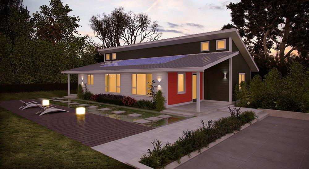casas prefabricadas energéticamente autosuficientes