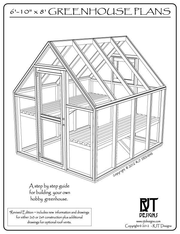 C mo construir un invernadero con estructura de madera for Plano de un vivero forestal
