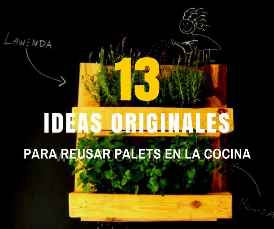 Ideas originales para reusar palets en la cocina - Libros de cocina originales ...