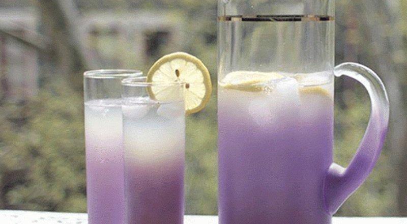 Limonada de lavanda para tratar la ansiedad y los dolores de cabeza