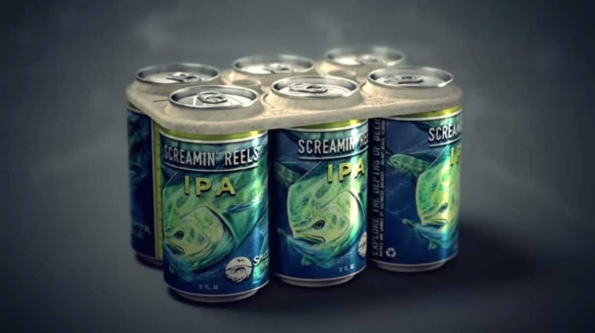 Cervecera de Florida crea anillos de Six-Pack comestibles para proteger la fauna y flora marina