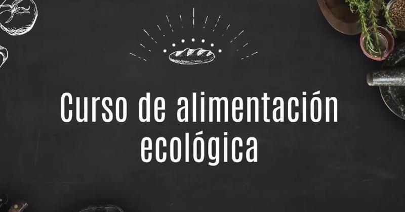 Curso de alimentación ecológica: aprende a comer de forma sana