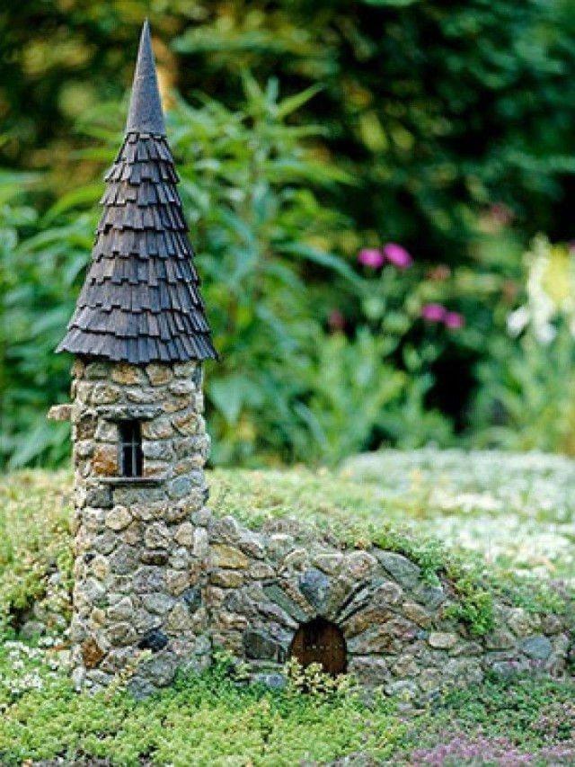 Increíbles casas de piedra en miniatura2