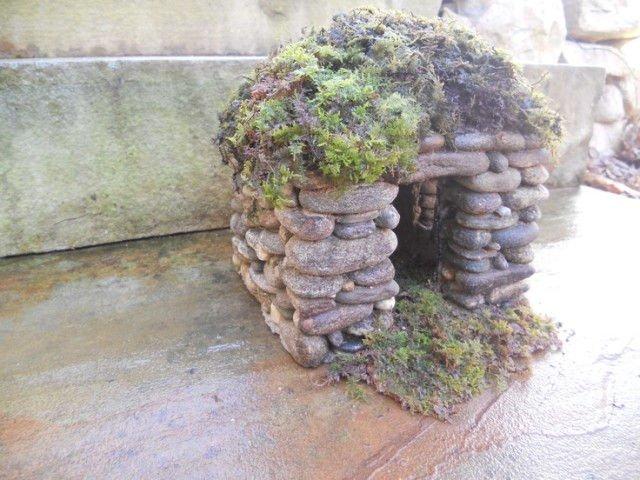 Increíbles casas de piedra en miniatura6