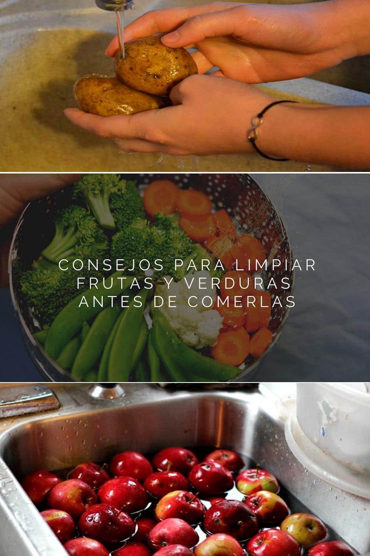 Cómo limpiar vegetales y frutas de pesticidas