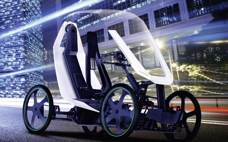El vehículo bio híbrido de Schaeffler para la movilidad urbana