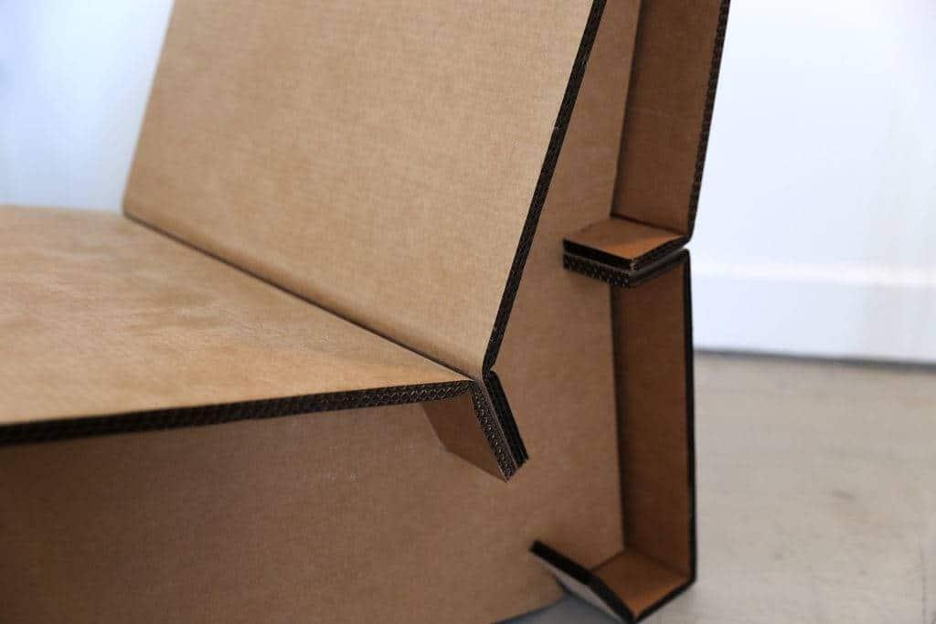 Sillón en 5 piezas cartón