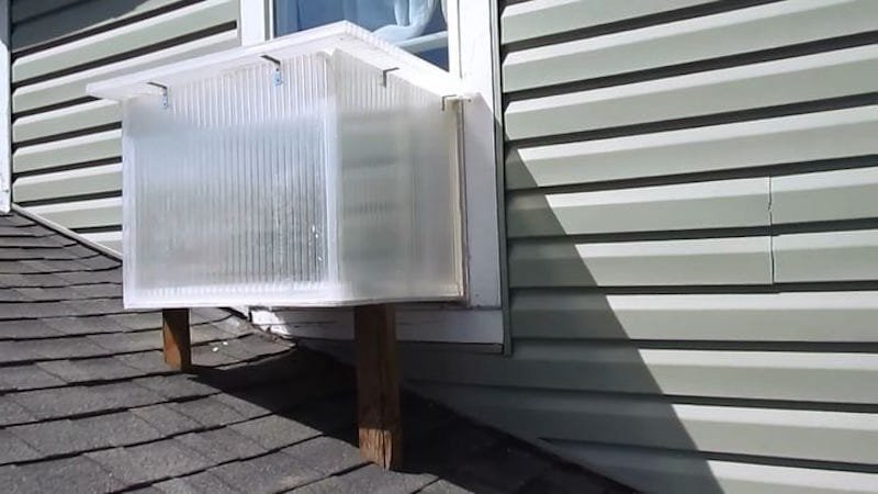 Cómo hacer un calentador horno solar para una ventana