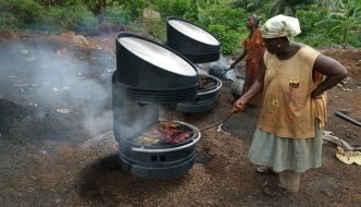 Wilson Solar Grill. Cocina de día y de noche con energía solar