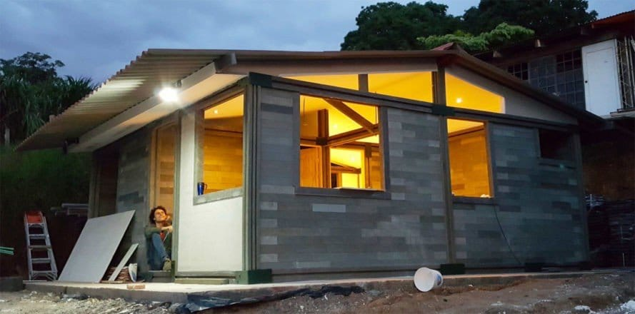 Building A House Out Of Recycled Materials