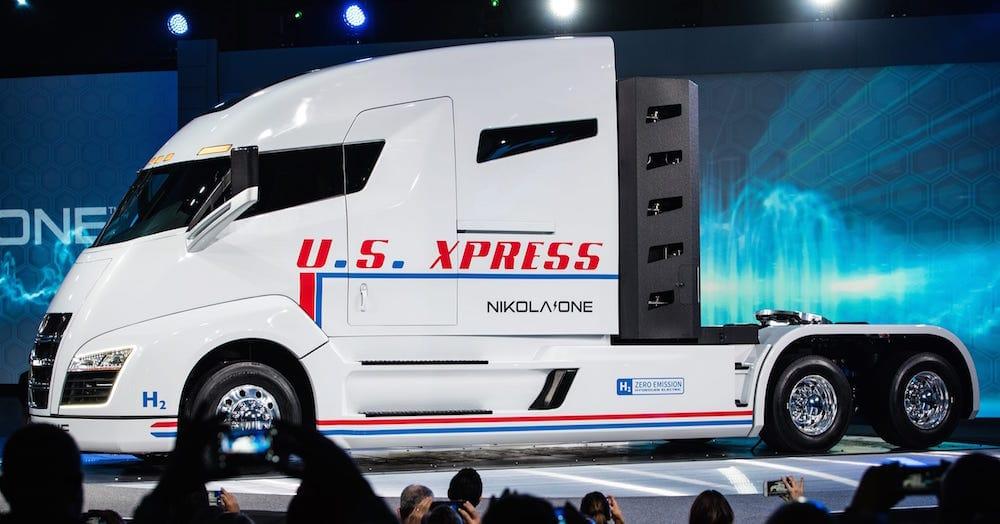 Nikola One camión eléctrico