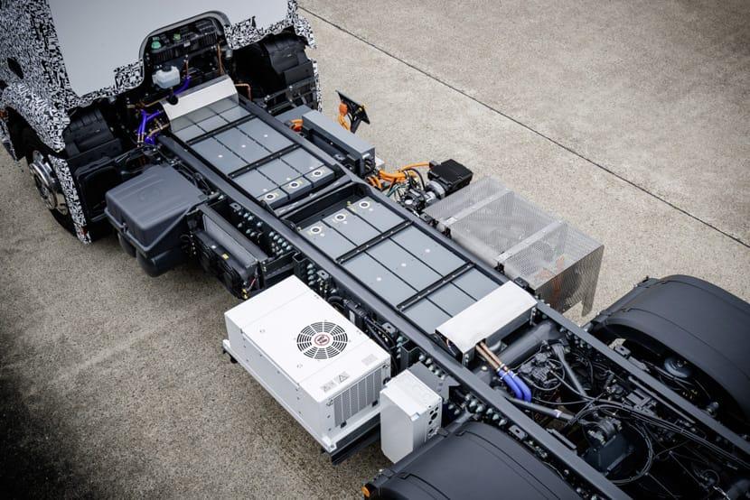 Urban eTruck baterias