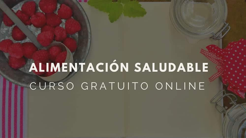 Curso online y gratuito- Alimentación saludable