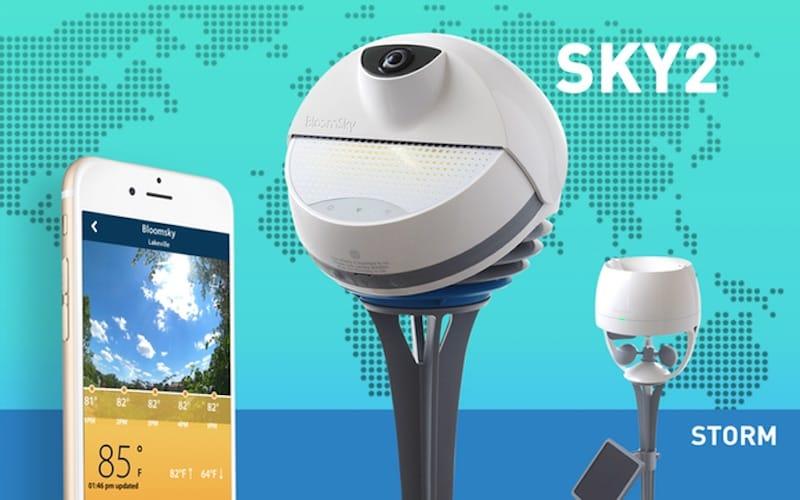 Sky2 - STORM, herramientas para monitorizar el clima que arrasan en Kickstarter