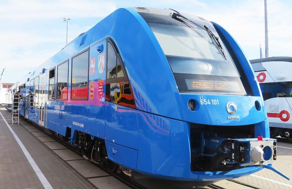 Primer tren de pasajeros con pila de hidrógeno cero emisiones del mundo