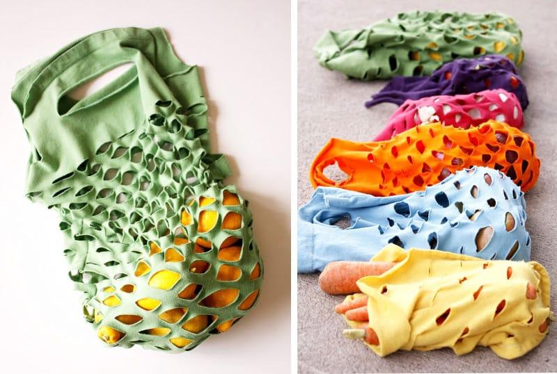 Como-hacer-bolsas-con-camisetas-usadas