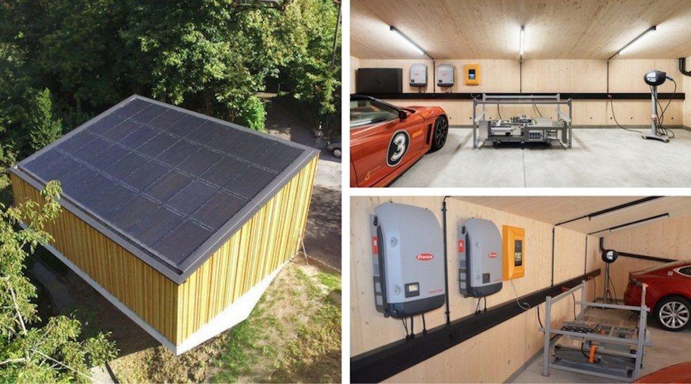SUN2WHEEL, el garaje solar autosuficiente para vehículos eléctricos