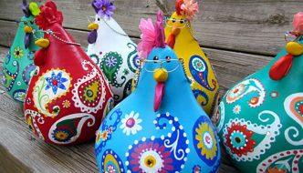 Cómo hacer unas adorables gallinas con calabazas