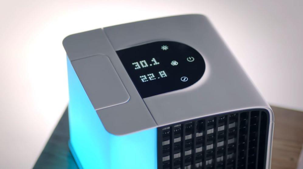 Evapolar 2. El aire acondicionado portátil que funciona con agua y cabe en una mochila