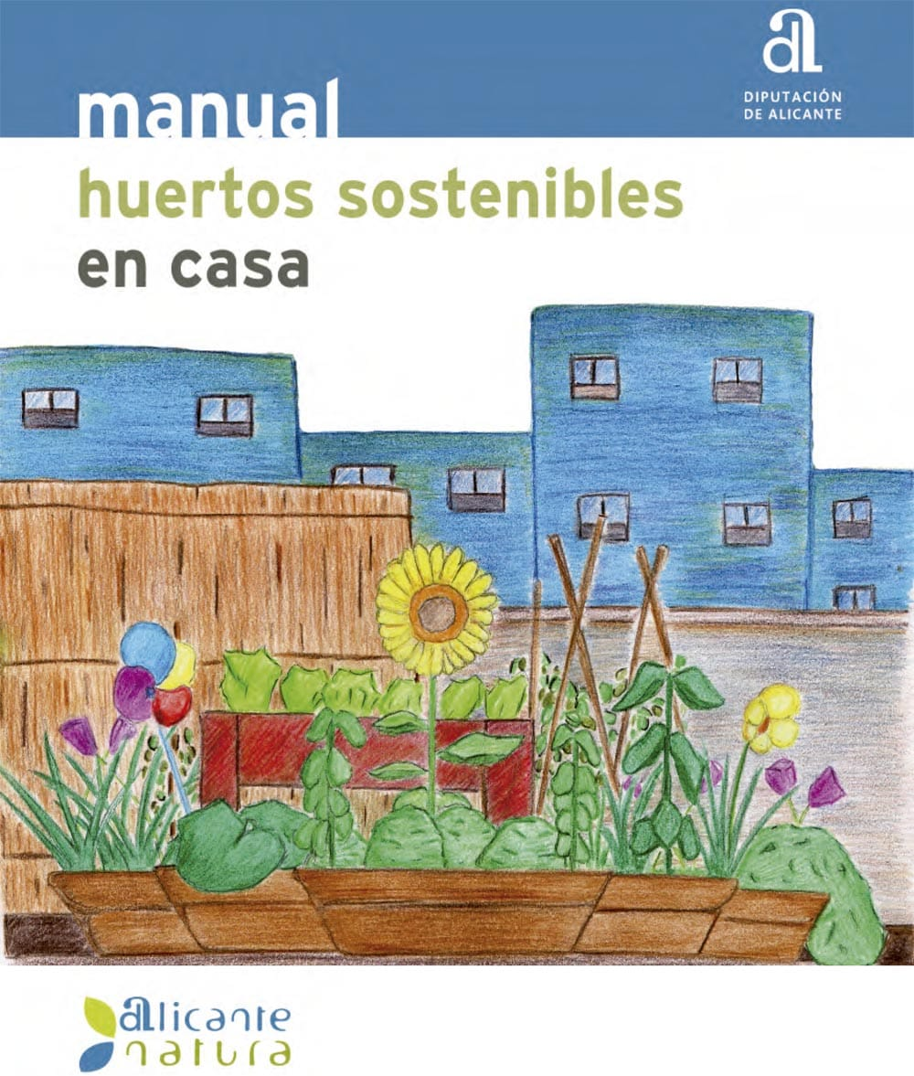 Manual de huertos sostenibles en casa