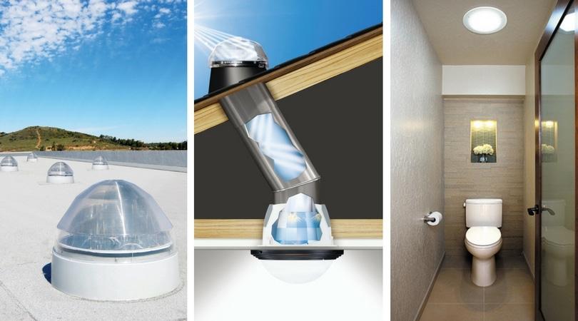 Solatube sistema de iluminaci n natural sin electricidad for Luz solar para exterior