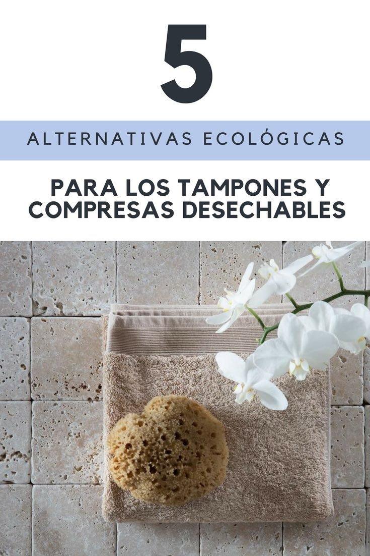 Menstruación: 5 alternativas ecológicas para los tampones y compresas desechables, alternativa compresas y tampones