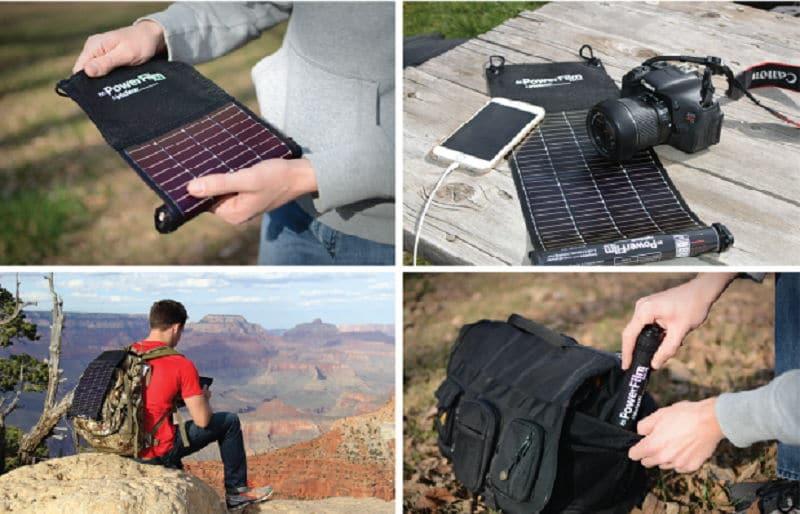 LightSaver Max, cargador solar portátil ultraligero para viajeros