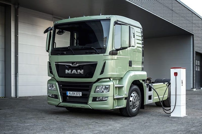 Man-camion-electrico