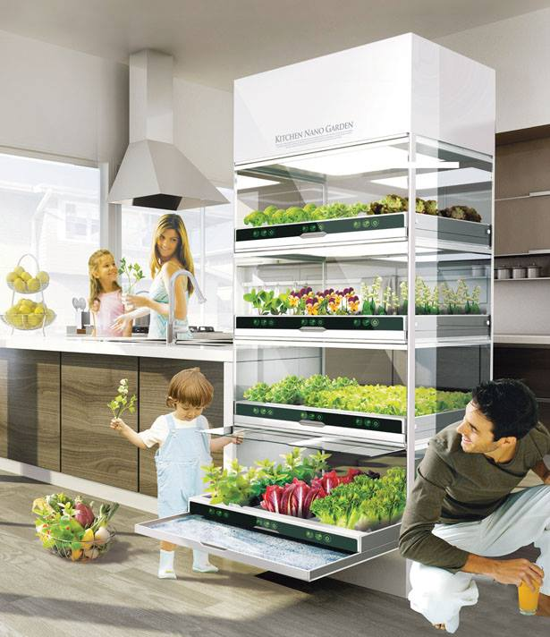 Nano Garden te permitirá cultivar tus propias verduras en la cocina