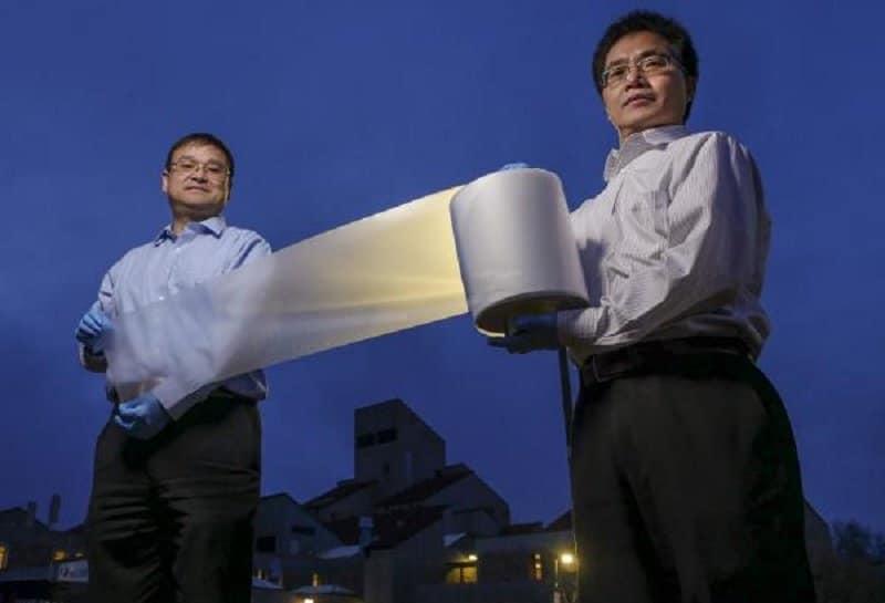 Un nuevo material que puede enfriar sin consumir energía