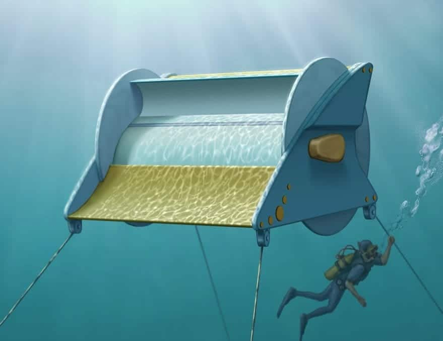 Una turbina única capaz de generar energía gratis con pequeñas corrientes de agua