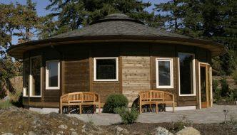 Las ventajas de la arquitectura circular o de vivir en una 'yurta' moderna