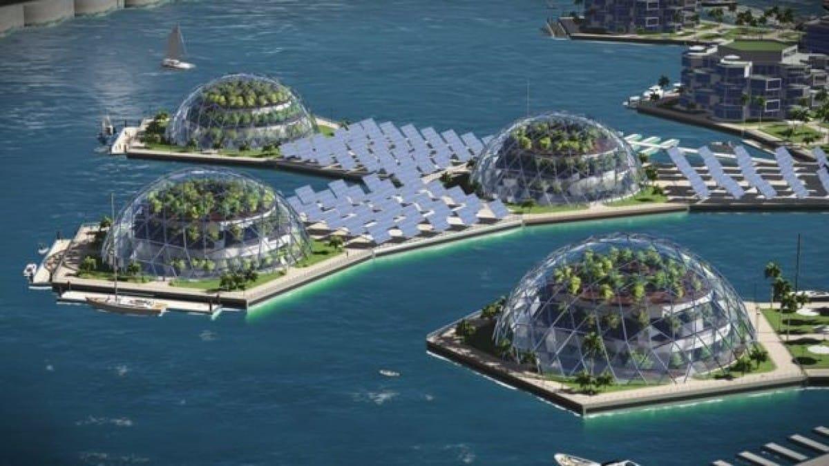 ciudad flotante sostenible Artisanópolis