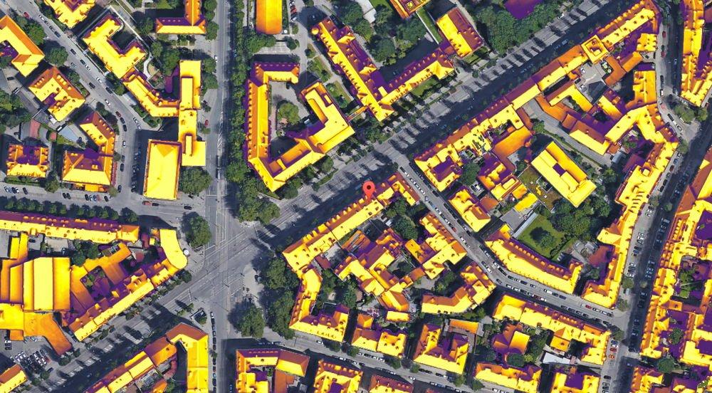 Proyecto Sunroof. Ahora puedes saber cuanta energía solar recibe tu tejado