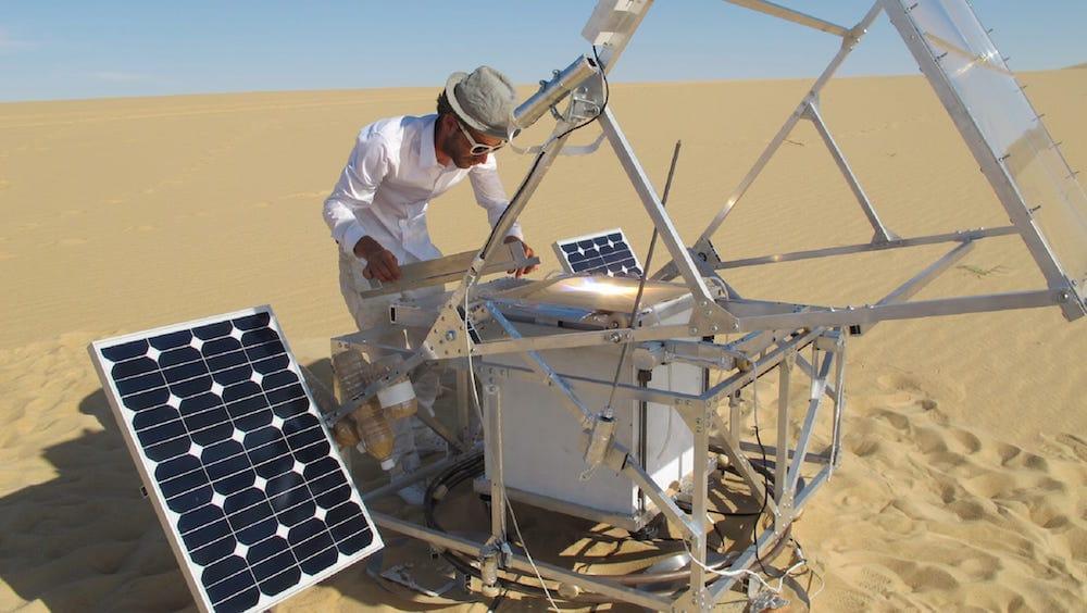 Solar Sinter La Impresora 3d Que Convierte Sol Y Arena En