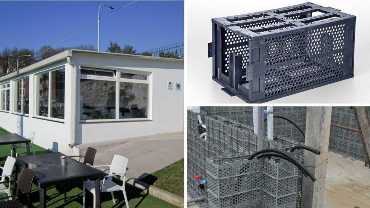Tecnolog a de bajo coste que transforma pl stico reciclado - Material de construccion segunda mano ...