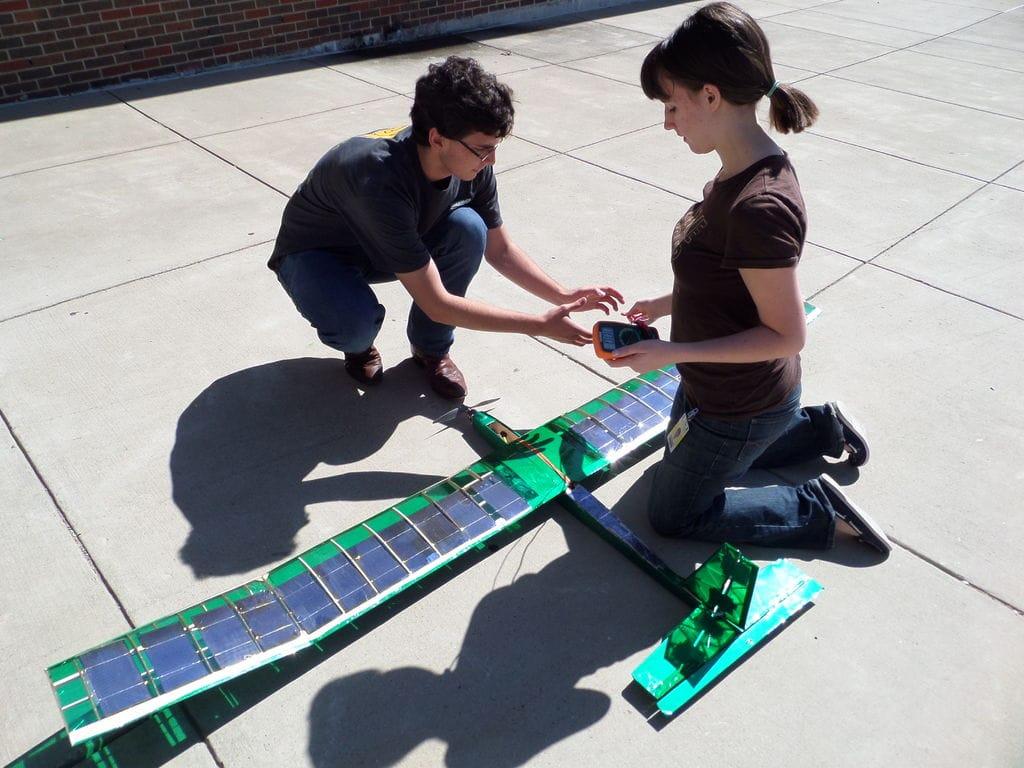 Avioneta-solar