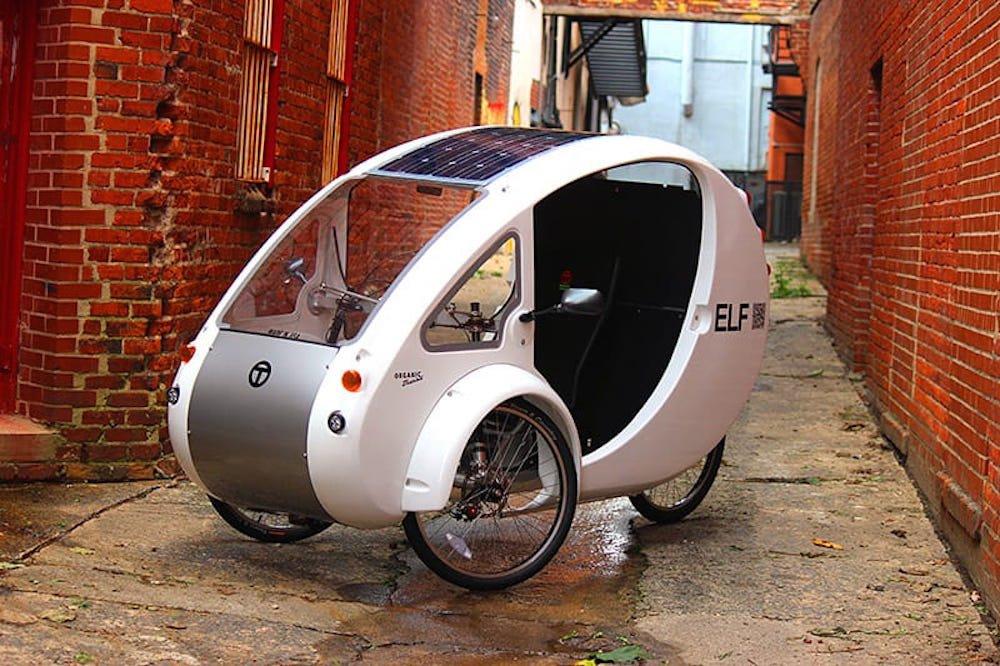 elf bici eléctrica solar