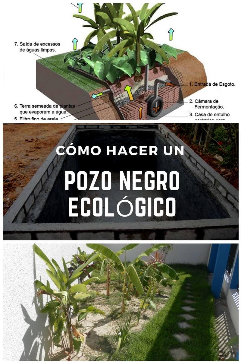 Cómo hacer un pozo negro ecológico