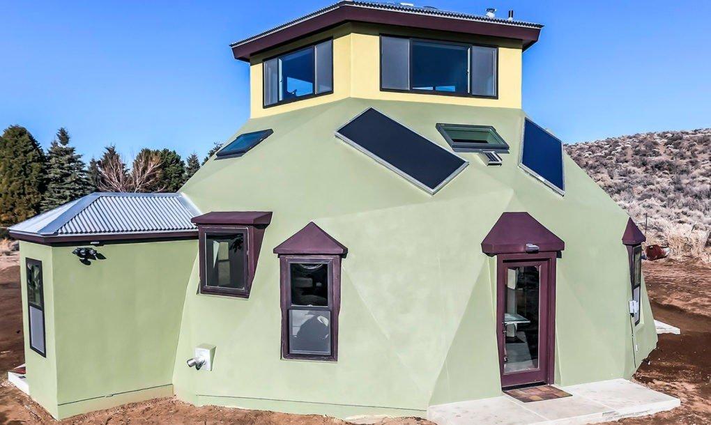 Haven, casa geodésica prefabricada