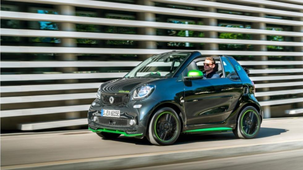 Smart fortwo cabrio eléctrico