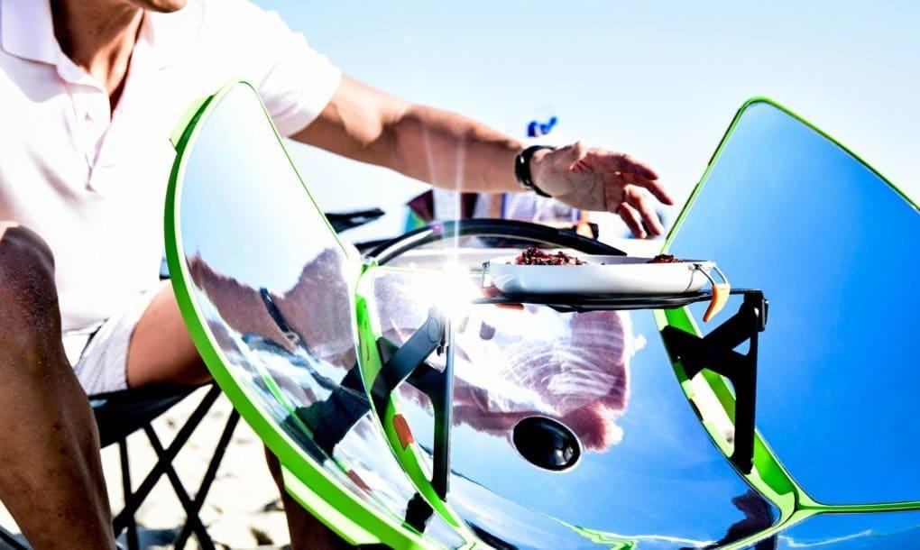 SolSource Sport, cocina solar portátil