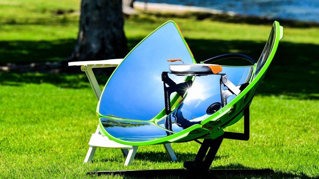 Solsource Sport La Cocina Solar Portatil Cero Emisiones Que Es
