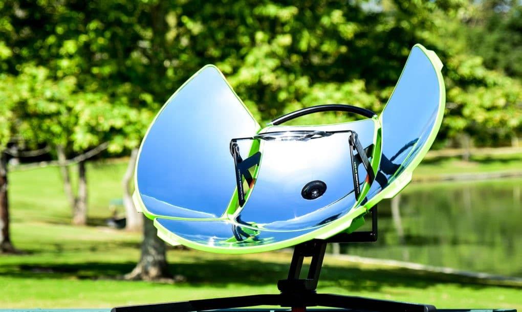 SolSource Sport, la cocina solar portátil cero emisiones