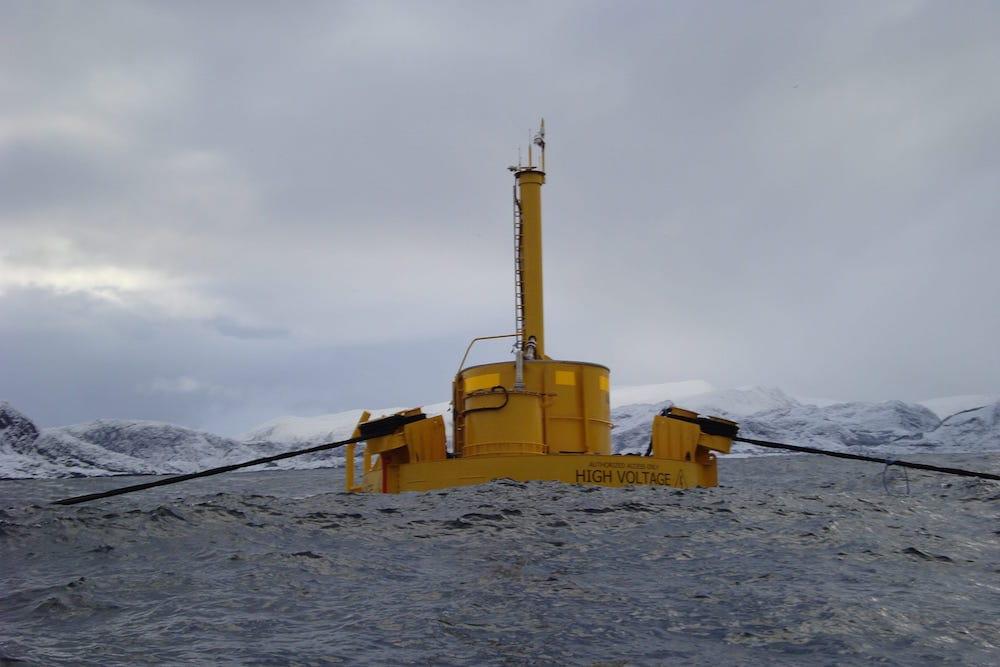 Noruega ya aprovecha la energía de las olas del mar con una instalación de 250 kWh de potencia