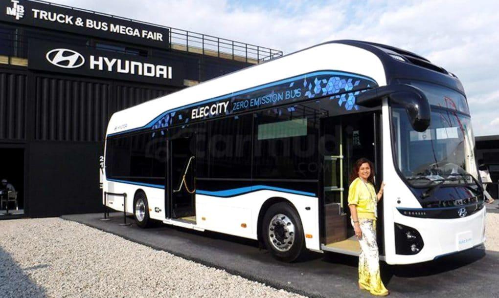 Nuevo autobús cero emisiones de Hyundai