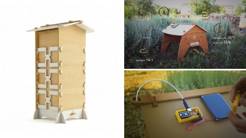 BuzzBox, sensor para monitorizar colmenas y controlar en tiempo real la salud de las abejas