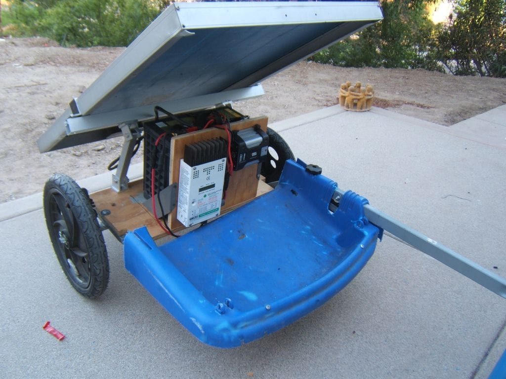 C mo hacer un generador solar m vil - Como solar un suelo ...