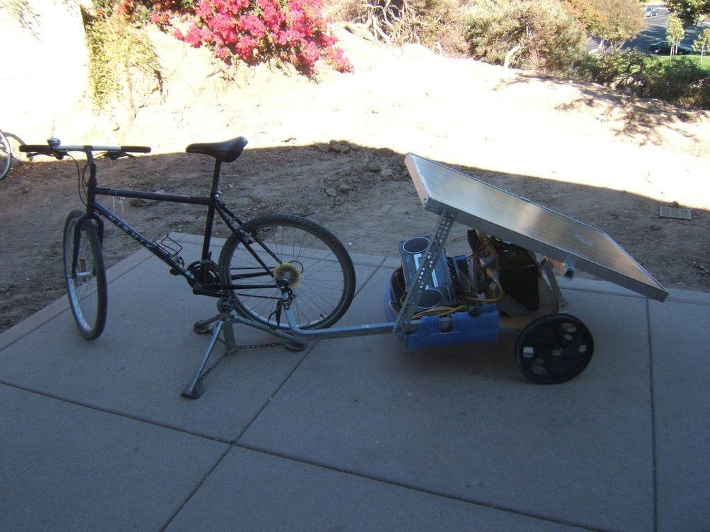 Cómo hacer un generador solar móvil